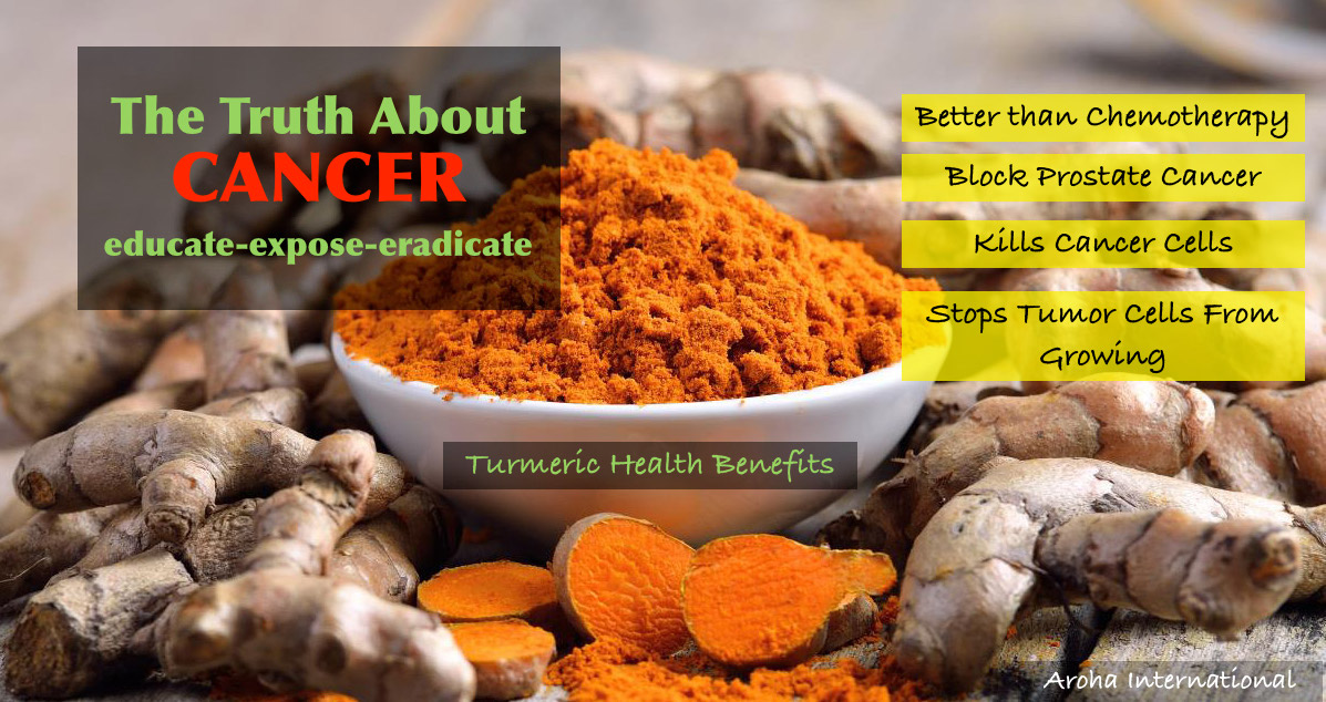 Image of Turmeric Benefits in Cancer