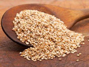 Image of Sesame Seeds Under Oil Seeds
