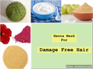 Image for Henna Mask of Damaged Free Hair