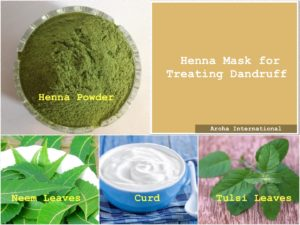 Image for Henna Mask for Treating Dandruff